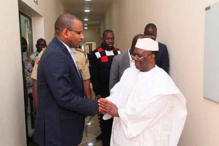 Primature : Dr Boubou Cissé s'assure du soutien des institutions de la république