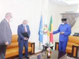 Le ministre malien des Affaires Etrangères et de la coopération Internationale, M. Tièblé Dramé a reçu en audience le lundi 18 mai les ambassadeurs de la France et de la Beligique.