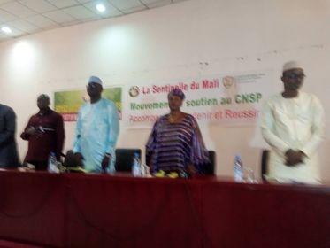 DEFENDRE LE CNSP : La Sentinelle du Mali sur fonts baptismaux