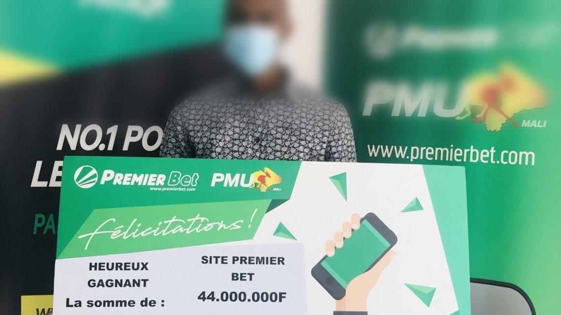 PREMIER BET PMU : il mise 4000 FCFA et gagne plus de 44 millions